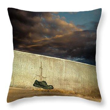 Wingtips  Throw Pillow by Bob Orsillo
