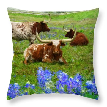 Da157 Winkin Blinkin And Nod Daniel Adams  Throw Pillow