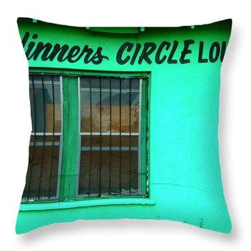 Winner's Circle Lounge Throw Pillow