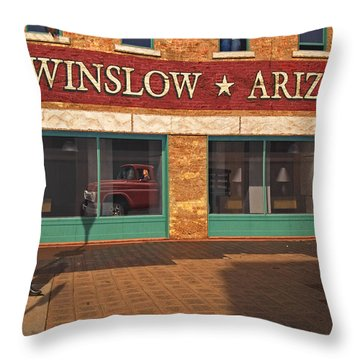 Winslow Arizona Throw Pillow