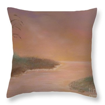 Winter Dawn Throw Pillow by Alys Caviness-Gober