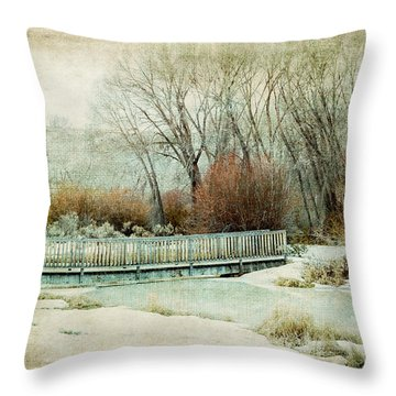 Winter Days Throw Pillow