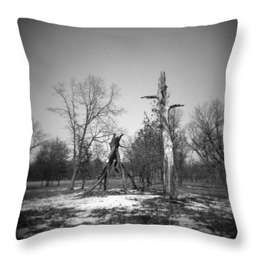 Winter Forest Series 4 Throw Pillow