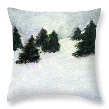 Winter Hill Throw Pillow