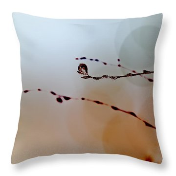 Winter Impressions Throw Pillow by Bob Orsillo