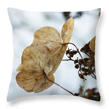 Winter Impressions Vii Throw Pillow