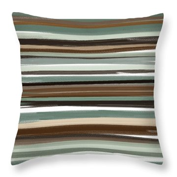 Winter In Summer Throw Pillow by Lourry Legarde