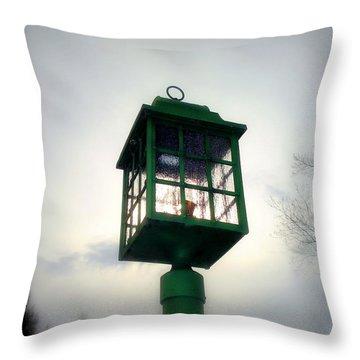 Winter Light Throw Pillow by J Allen