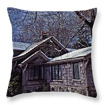 Winter Lodge Throw Pillow