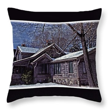 Winter Lodge Throw Pillow