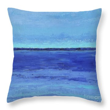 Winter Morning Throw Pillow by Gail Kent