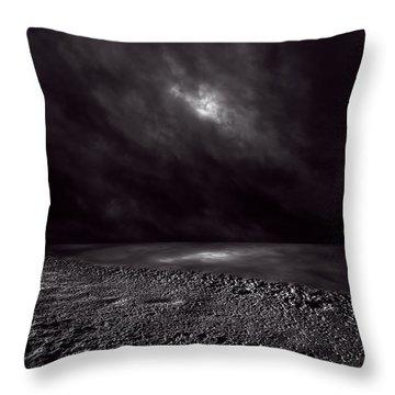 Winter Nightscape Throw Pillow by Bob Orsillo
