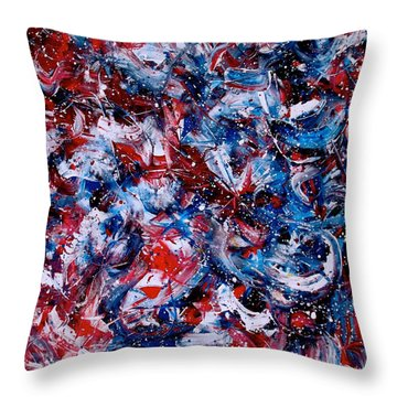 Winter Olympics Throw Pillow