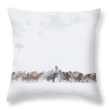 Flock Throw Pillows