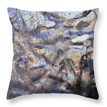 Winter Remains Throw Pillow