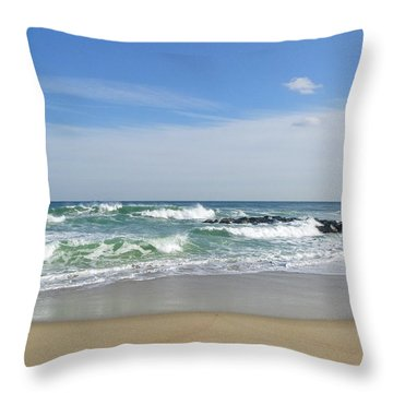 Winter Ruffians Throw Pillow
