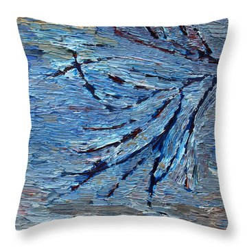Winter Sensations Throw Pillow