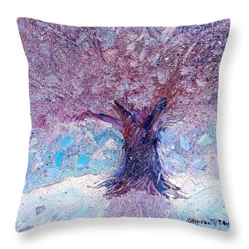 Winter Solstice Throw Pillow by Shana Rowe Jackson