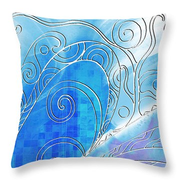 Winter Solstice  Throw Pillow by Shawna Rowe