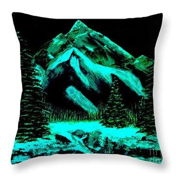 Winter Throw Pillow by Tim Townsend