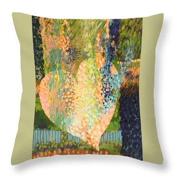 Winter To Spring Throw Pillow