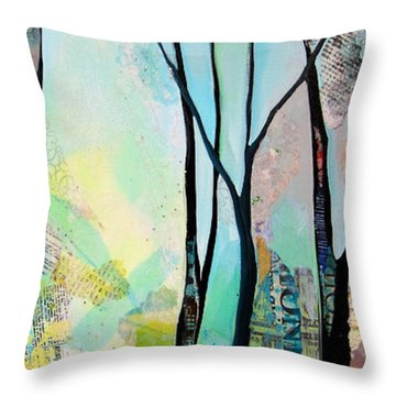 Winter Wanderings I Throw Pillow