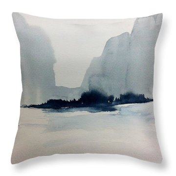 Winter Wash Throw Pillow