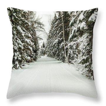 Winter Wonder Land Throw Pillow by Patrick Shupert