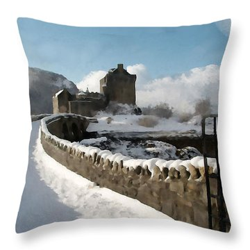 Winter Wonder Walkway Throw Pillow