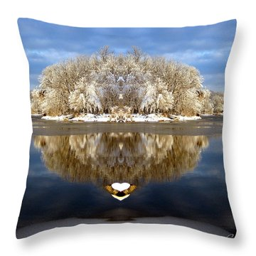 Winter Wonderland Love Throw Pillow