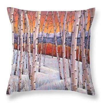 Foliage Throw Pillows
