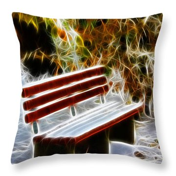 Winters Dream Throw Pillow