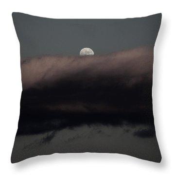 Winter's Moon Throw Pillow