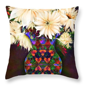 Winter's Song Throw Pillow