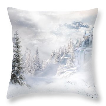 Winters Tale Throw Pillow
