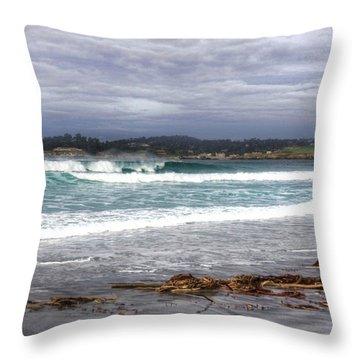 Wintertide  Throw Pillow