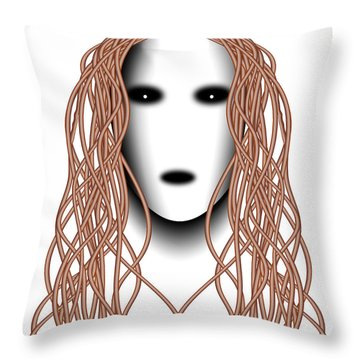 Wired Throw Pillow by Christopher Gaston