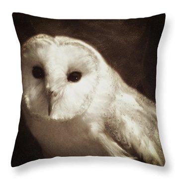 Wisdom Of An Owl Throw Pillow