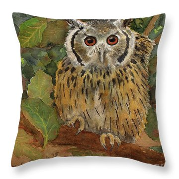 Wise Guy Throw Pillow