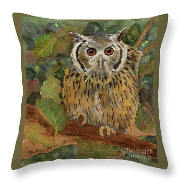 Wise Guy Throw Pillow