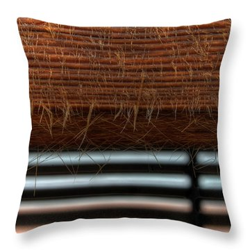Throw Pillow featuring the photograph Wise Wood by Erhan OZBIYIK