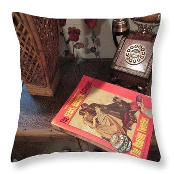 Wish Book Throw Pillow