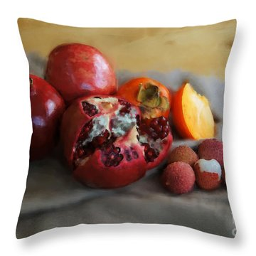 Wish You... Throw Pillow