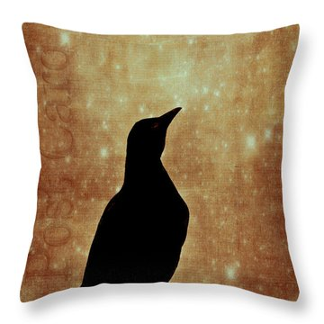 Wish You Were Here 2 Throw Pillow by Carol Leigh
