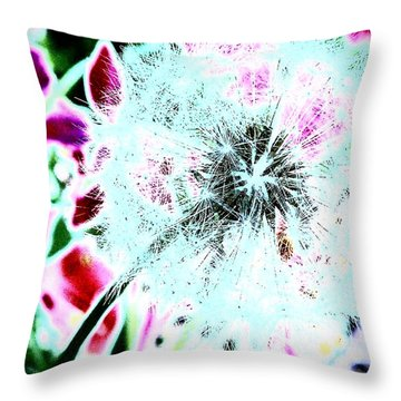 If Wishes Were Horses Throw Pillow