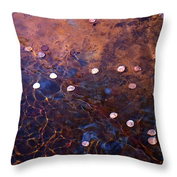 Throw Pillow featuring the photograph Wishes by Rona Black