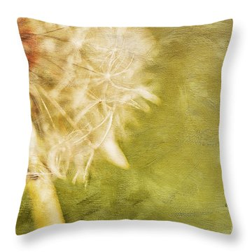 Wishful Thinking Throw Pillow by Lois Bryan