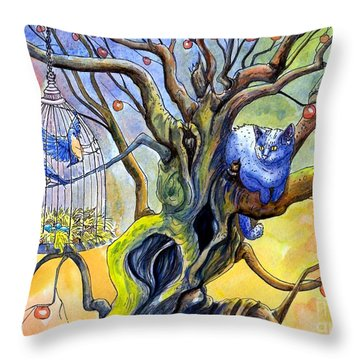 Wishfull Thinking Throw Pillow by Margaret Schons