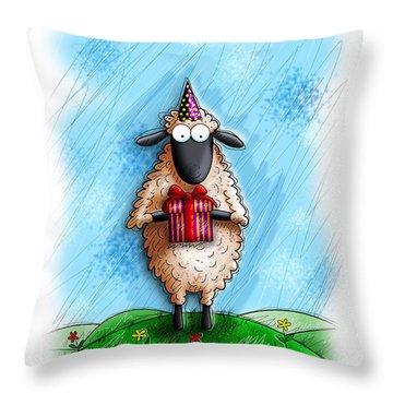 Wishing Ewe  Throw Pillow