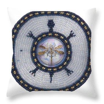 Wishing Pond Turtle Throw Pillow